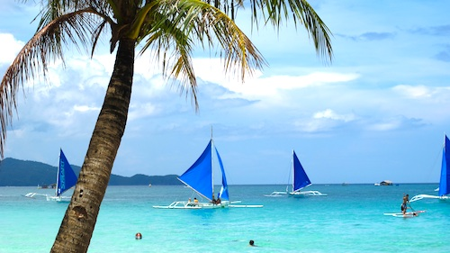 Typical Morning in Boracay