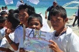 Elementary Students in Hambongan Island