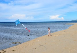 Kids Pastime in the Island