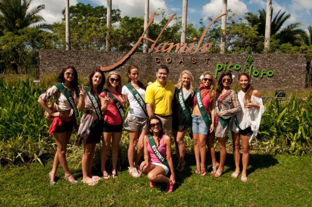 Miss Earth 2011 Contestants in Hamilo Coast