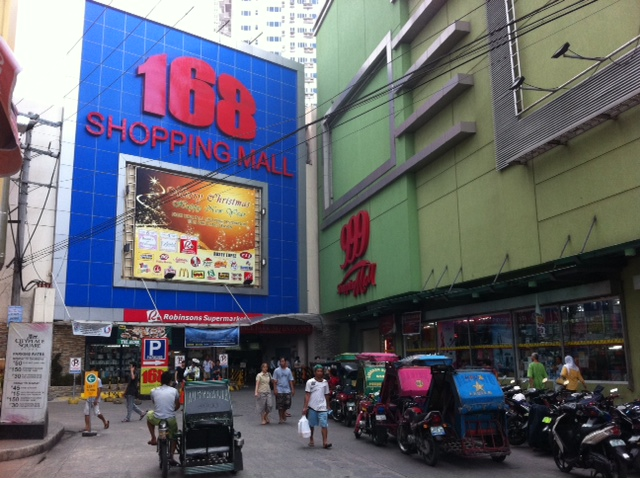 168 Shopping Mall in Divisoria