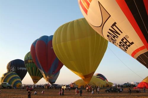 hot air balloon fiesta photos 2012