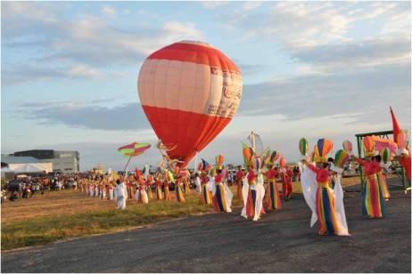 Hot Air balloon Fiesta Opening