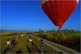 Recovery of Hot Air Balloon in Pampanga