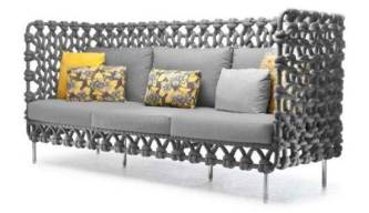 Cabaret Sofa by Kenneth Cobonpue
