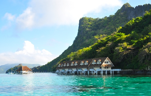 Deluxe Water Cottages