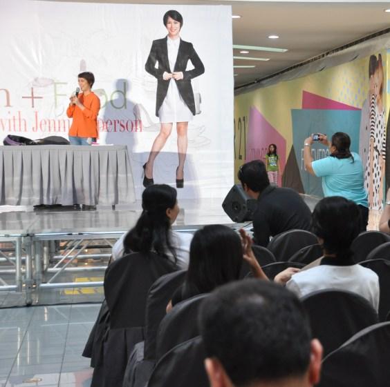 Jenni Epperson at SM North Edsa