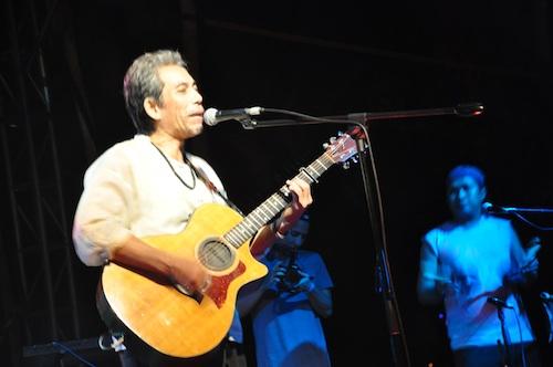 Joey Ayala in Malasimbo
