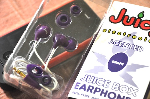 Juicy Scented Earphones