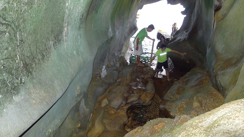 Opening of St Josephs Cave