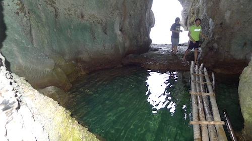Small Lagoon inside The North Cave