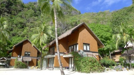 Bamboo inspired cottages