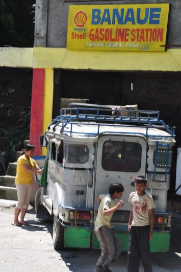 Gasoline Station in Banaue