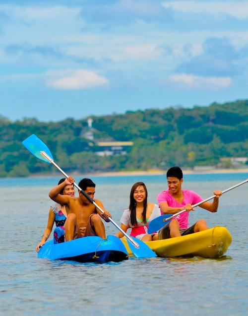 Kayaking in Matabungkay