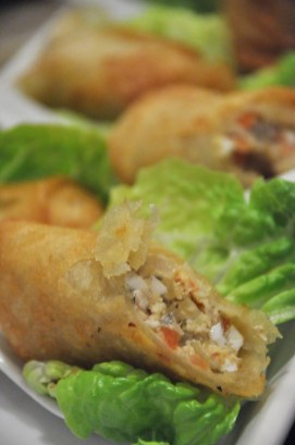 Tinapa Roll Wrapped in Lettuce