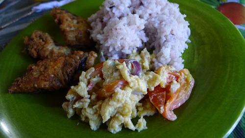 banaue ifugao breakfast