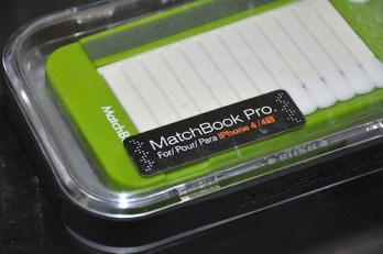 Musubo Matchbook Pro Case for iPhone 4:4S