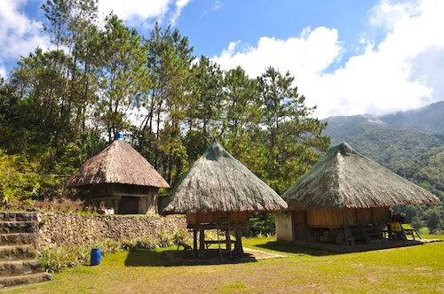 native huts ifugao
