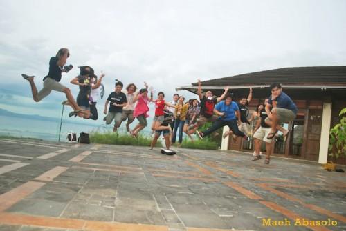 Philtoa Fam Tour Jump Shot in Panglao Resort