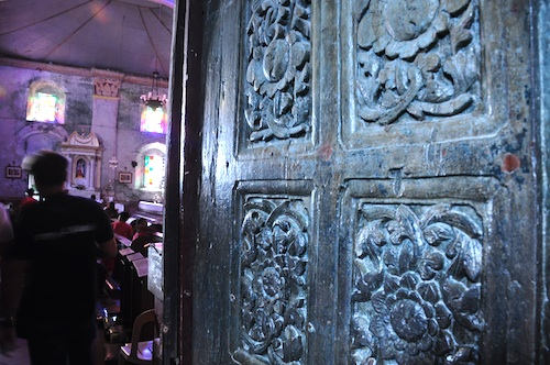 Antique Wooden door made from Iron Wood