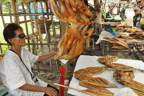 Fried Fish - Surahan in Jomalig Quezon