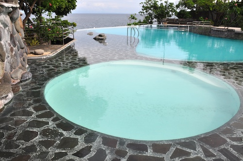 Infinity Pool at Antulang Beach Resort