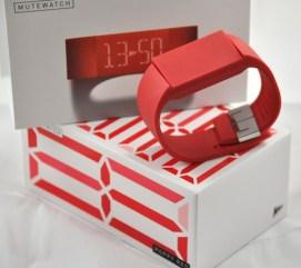 Poppy Red Mute Watch