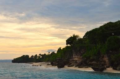 Sunset in Tambobo Bay
