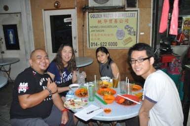 With Jo Ling and Rebecca Saw
