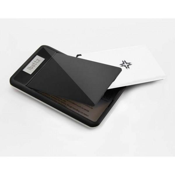 Ibattz Mojo Removable Powercard wallet black