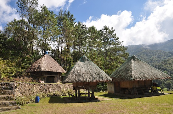 Ifugao Huts for rent at Banaue Ethnic Village