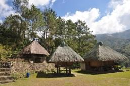 Ifugao Huts for rent at Banaue Ethnic Village