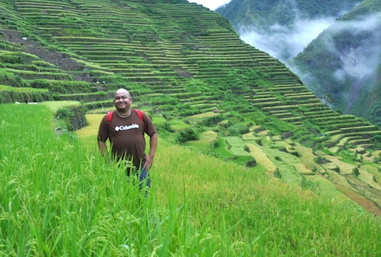 Melo Villareal in Batad Rice Terraces