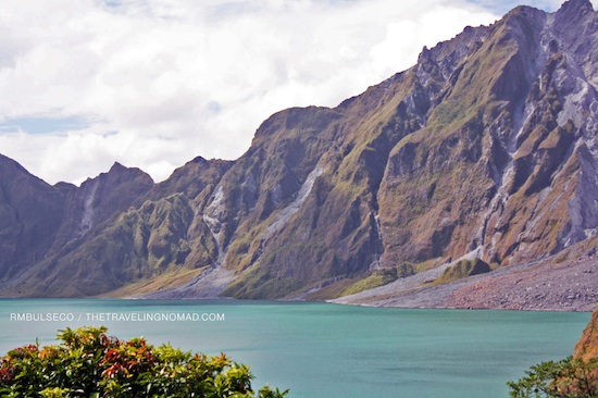Crater of Mt Pinatubo