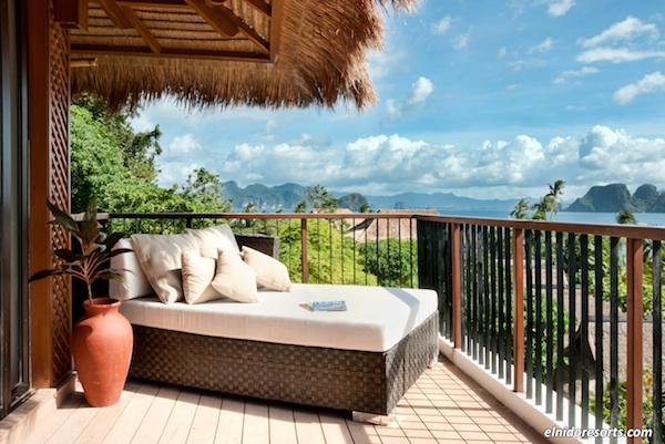 Pangulasian Island - Canopy Villa Balcony