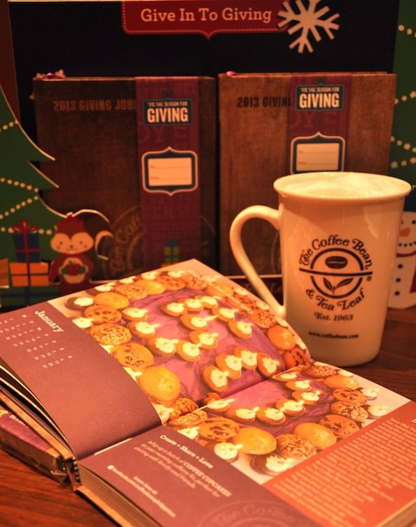 2012 Planners from Coffee Bean and Tea Leaf
