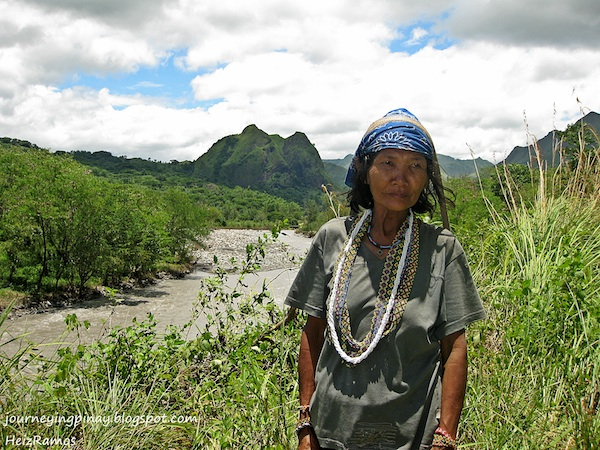Mangyan Woman from Mindoro