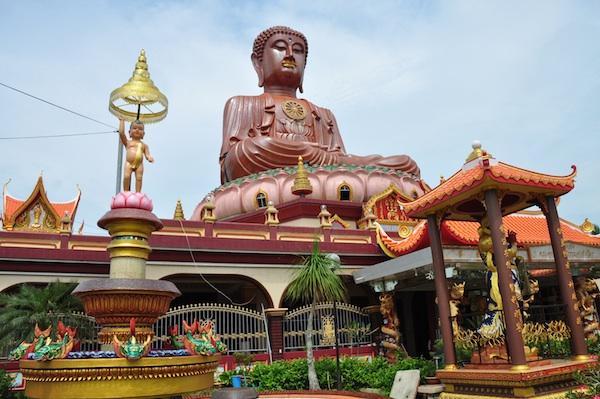 Popular Buddhist Temple in Kelantan