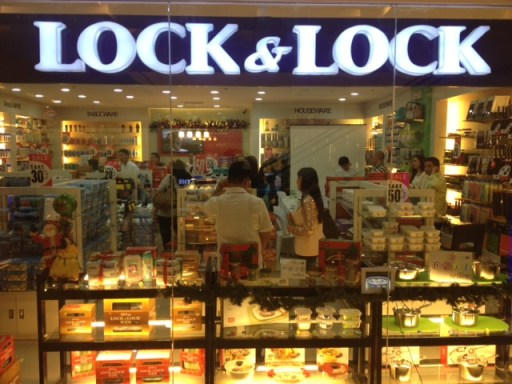 Lock & Lock Shop in Lucky Chinatown