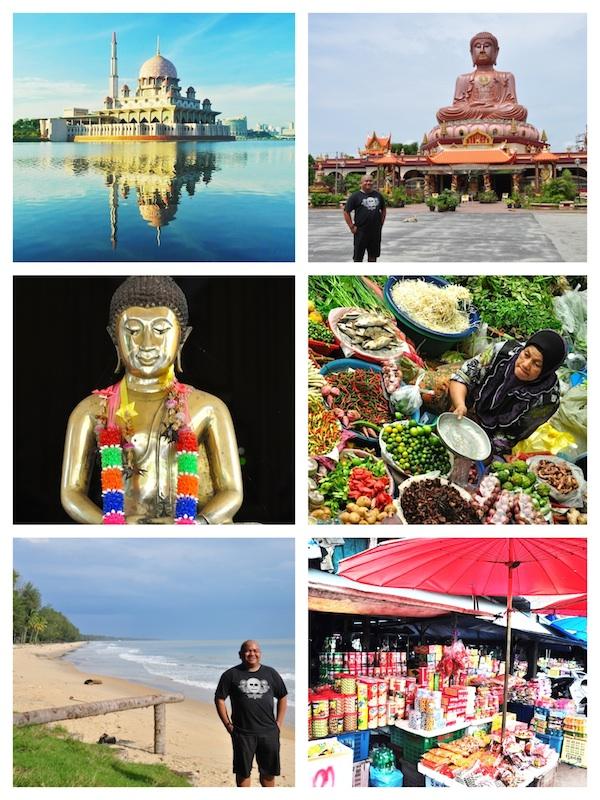 Kelantan Malaysia and Tak Bai Thailand