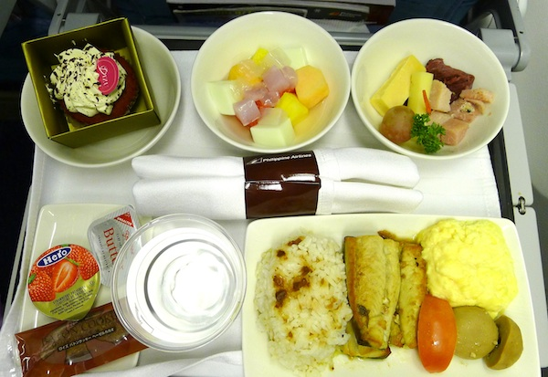 PAL's Impressive inflight food