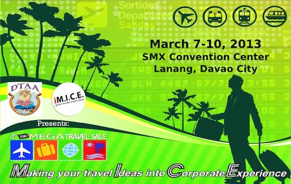 4th Davao Mega Travel Sale 2013