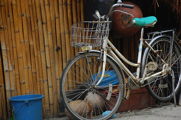 Bicycle in Sabtang Island