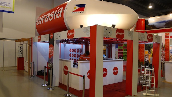 Creative Booth from Air Asia
