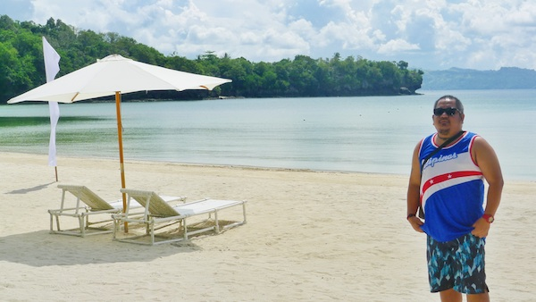 Melo Villareal in Dakak Park and Beach Resort
