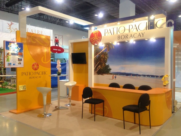 Patio Pacific Boracay Booth at the Travel Tour Expo 2013