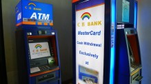 ATM Machines in Yangon International Airport