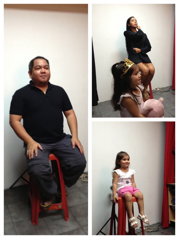 Passport photo ID Session with Luna and Gay Emami
