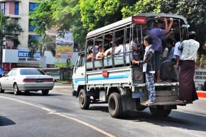Public Transport in Myanmar