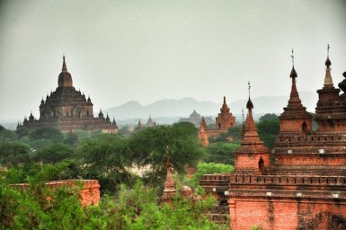 Temples and Pagodas in Bagan
